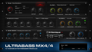 G-Sonique Ultrabass MX4/4 VSTi v1.0