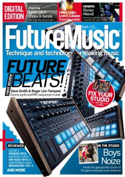 Журнал Future Music Magazine (January 2012)