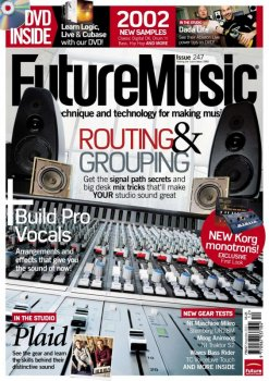 Журнал Future Music Magazine (December 2011)