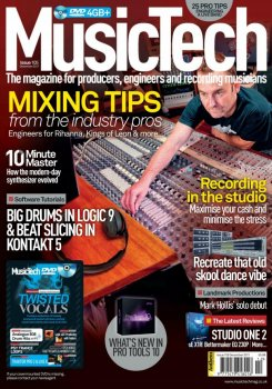 Журнал Music Tech Magazine (December 2011)