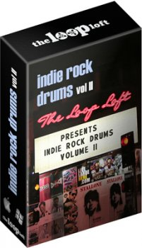 Сэмплы ударных The Loop Loft Indie Rock Drums Vol 2 (WAV)