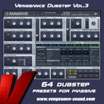 Пресеты Vengeance Dubstep Vol 3