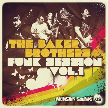 Сэмплы Monster Sounds Baker Brothers Funk Session Vol. 1
