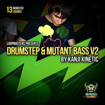 Сэмплы Monster Sounds Kanji Kinetic - Drumstep and Mutant Bass Vol 2