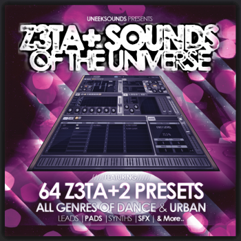 Пресеты Uneek Sounds - Z3ta+ Sounds Of The Universe