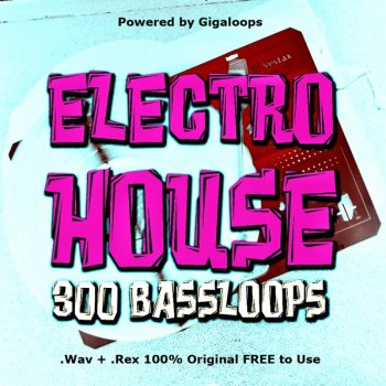 Сэмплы Giga Loops - 300 Electro House Bass Loops