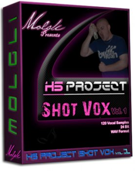 Сэмплы вокала - Molgli - HS Project Shot Vox Vol 1