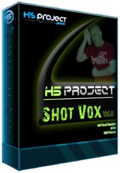 Сэмплы вокала - Molgli - HS Project Shot Vox Vol 3