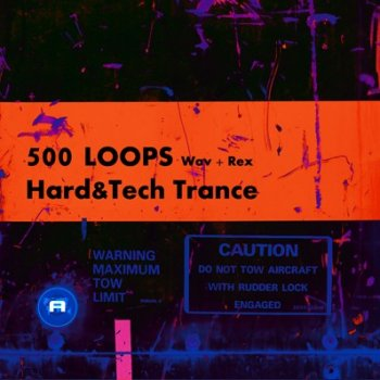 Сэмплы Acid Records - 500 Loops Hard  Tech Trance