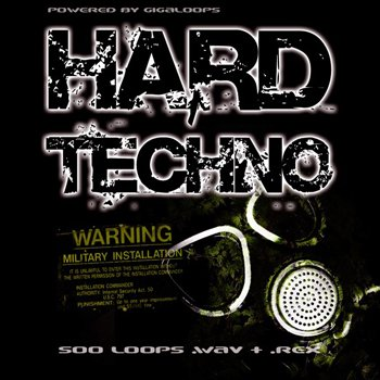 Сэмплы Giga Loops - 500 Hard Techno Loops