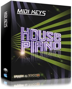 MIDI файлы - Smash Up The Studio - MIDI Keys House Piano