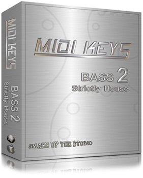 MIDI файлы - Smash Up The Studio  Midi Keys: Bass2 Strictly House