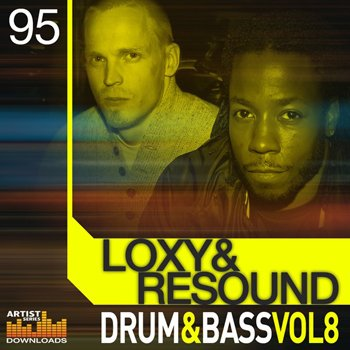 Сэмплы Loopmasters Loxy and Resound - Drum And Bass Vol. 8