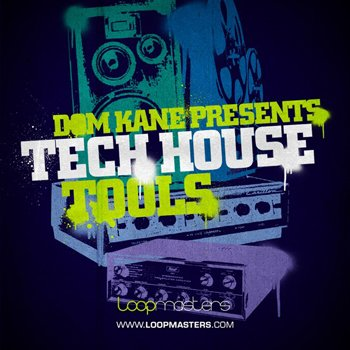 Сэмплы Loopmasters - Dom Kane Tech House Tools