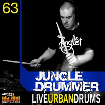 Сэмплы Loopmasters - Jungle Drummer Live Urban Drums