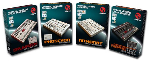 D16 Group Audio Software Classic Boxes Collection 2015 x86 x64