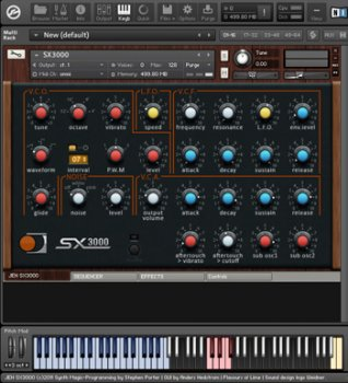 Synth Magic -Jen SX3000 (Kontakt)