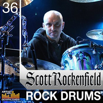 Сэмплы ударных - Loopmasters - Scott Rockenfield Rock Drums