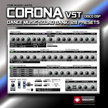 Пресеты Giga Loops – discoDSP Corona VST Sound Bank
