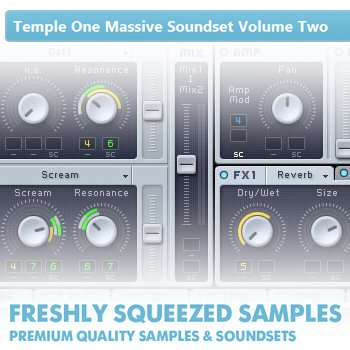 Пресеты Freshly Squeesed Samples - Temple One Massive Soundset Volume Two
