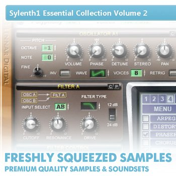 Пресеты Freshly Squeezed Samples - Sylenth1 Essential Collection Volume 2