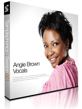 Сэмплы Samplephonics Angie Brown Vocals
