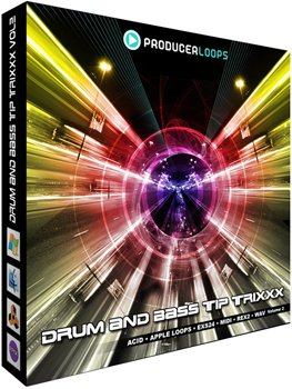 Сэмплы Producer Loops Drum & Bass Tip Trixxx Vol 2