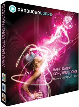 Сэмплы Producer Loops  Hard Dance Constructions