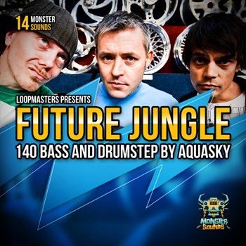 Сэмплы Monster Sounds - Aquasky Future Jungle & Drumstep