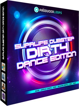 Сэмплы Producer Loops Supalife Dubstep: Dirty Dance Edition