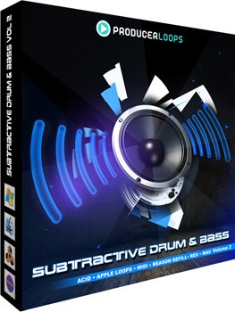 Сэмплы Producer Loops Subtractive Drum & Bass Vol 2