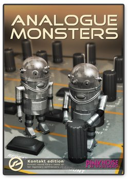 Библиотека сэмплов PinkNoise Analogue Monsters (KONTAKT)