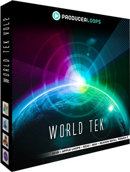 Сэмплы Producer Loops World Tek Volume 2