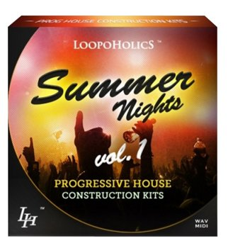 Сэмплы Loopoholics Summer Nights Vol.1 Progressive House Construction Kits