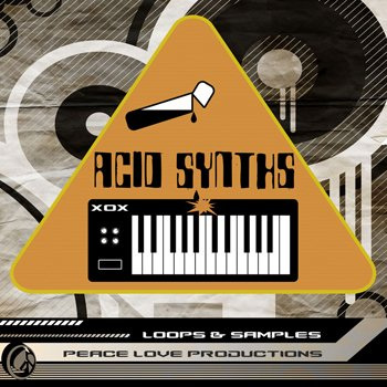 Сэмплы Peace Love Productions Acid x0x Synths