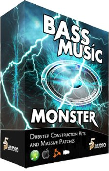 Сэмплы P5Audio - Bass Music Monster Dubstep Construction Kits