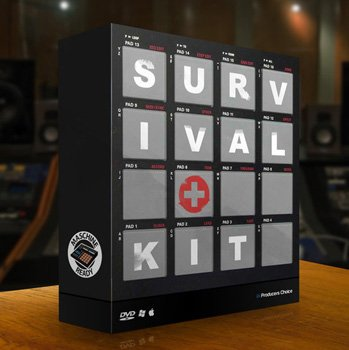 Сэмплы ударных - Producer Choice Survival Drum Kit