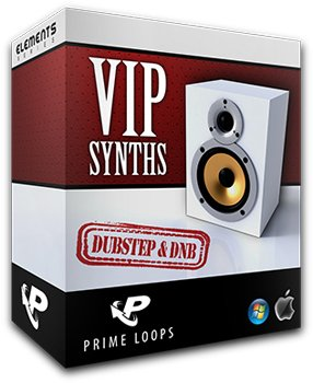 Сэмплы Prime Loops VIP Synths Dubstep & DnB Edition