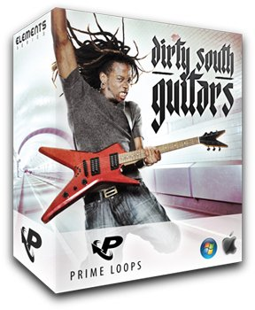 Сэмплы Prime Loops Dirty South Guitars