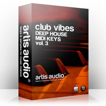 MIDI файлы Artis Audio Deep House MIDI Keys Vol 3