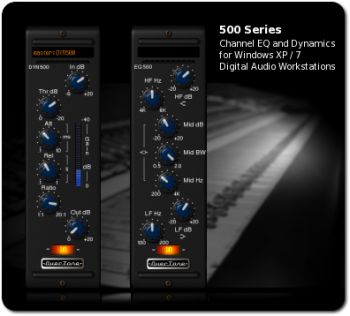 OverTone DSP 500-Series EQ and Dynamics Processors v2.0.0
