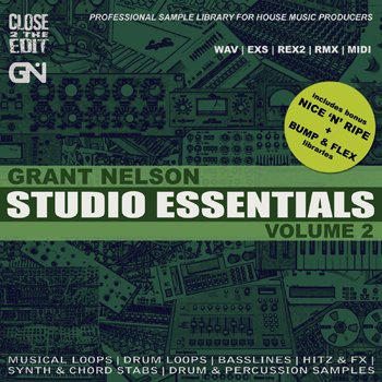 Сэмплы Grant Nelson Studio Essentials Volume 2
