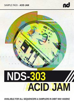 Сэмплы No Dough Samples NDS-303 Acid Jam