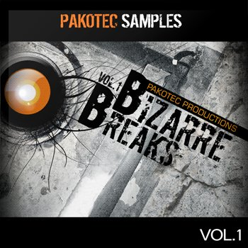 Сэмплы Pakotec Samples Bizarre Breaks Vol 1