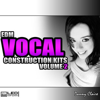 Сэмплы вокала L.E.D. Samples EDM Vocal Construction Kits Vol 2