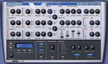 Novation V-Station VSTi v2.6 x86 x64