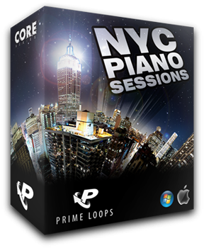 Сэмплы Prime Loops NYC Piano Sessions