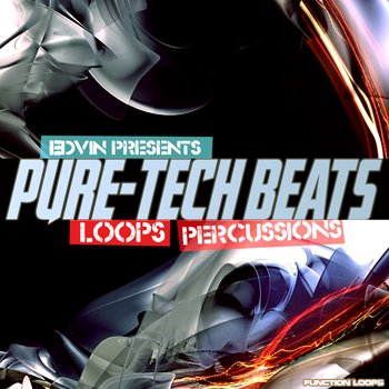 Сэмплы Function Loops Edvin presents Pure Tech Beats