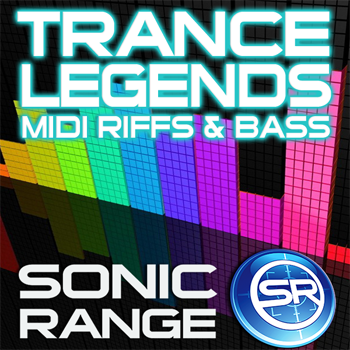 MIDI файлы Sonic Range Trance Legends: MIDI Riffs & Bass-
