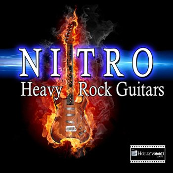 Сэмплы гитары Hollywood Loops Nitro Heavy Rock Guitars